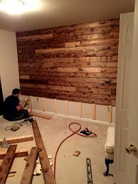 Pallet Wood Backsplash 20 Diy Pallet Wall Pallet Wood Walls Wood Pallets And Pallet Wood