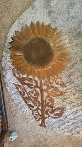 rustic wall decor sunflower garden art