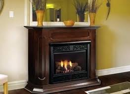 direct vent vs gas fireplace vented or free standing s ventless non log sets furniture co