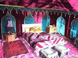 Gypsy Decor Bedroom Gypsy Decorating Style Bedroom With Red Velvet Fabrics And Carpet