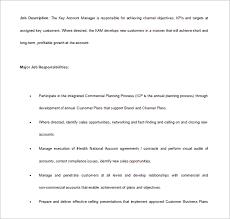 11 Account Manager Job Description Templates Free Sample