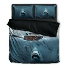 shark bedding queen