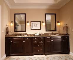 master bathroom cabinets ideas. Perfect Master Vanity Mosaic Tile Square Mirror On Wall Light Brown Granite Tops  Black Master Bath Cabinet With Bathroom Cabinets Ideas I
