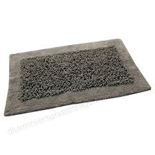 modern bath mats rug cotton and chenille tufted pattern all modern bath mats