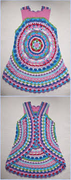 Crochet Circular Vest Pattern Free Beauteous DIY Crochet Circular Vest Sweater Jacket Free Patterns