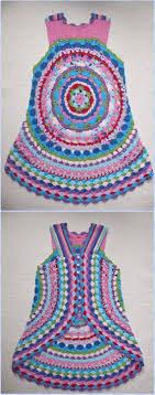 Crochet Circular Vest Pattern Free