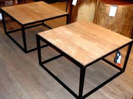 wood metal side table innovative metal coffee tables and end tables wood coffee tables within wood