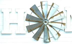 galvanized wall decor circle phillips collection shutters