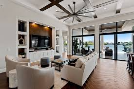 One of the decoration options for the living room is a curtain. 75 Beautiful Living Room With A Media Wall Pictures Ideas July 2021 Houzz