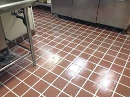 Kitchen Floor Grout Cleaner Re Grouted Epoxy Kitchen Floor For A Restaurant Kitchen In Boston