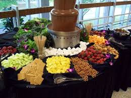 Chocolate Fountain Display Stand
