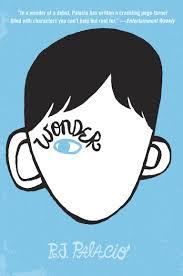 wonder by r j palacio middle grade book cover