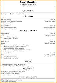 Resume For College Freshmen Resume Templates