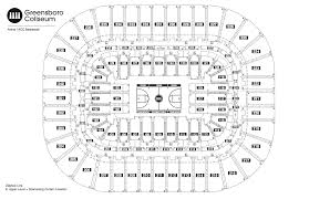 2018 Acc Tournament Seating Chart By School Seating Chart See Seating Charts Module Greensboro