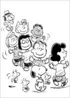 Small Picture Charlie Brown Thanksgiving Coloring Pages Free 5339 Cartoons