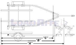 trailers 101 load rite trailers bunk diagram bunkdiagram