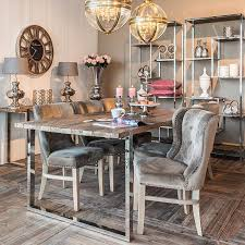 reclaimed wood tables industrial dining modish living for room sets plan 12
