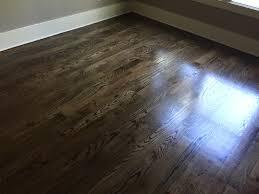 Sanding New Hardwood Floors Newly Sanded 2 Red Oak Hardwood Flooring Minwax Espresso Stain