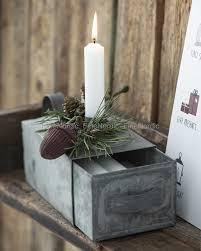 Ib Laursen Kerzenhalter Zum Kerze Box Zink