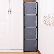 Guardaroba componibili economici : Songmics armadio armadietto guardaroba scaffale cubi mobiletto