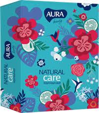 <b>Набор AURA Beauty</b> natural care Гель д/д вит.260мл+Крем д/рук ...