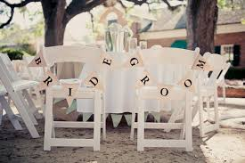 Bride And Groom Signs For A Wedding Reception Seating