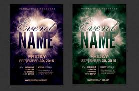 Template For Event Flyer Event Flyer Templates Free Download Event Postcard Flyer Template