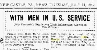 Where'd He Go Wednesday? John A. George   Trovando Famiglia