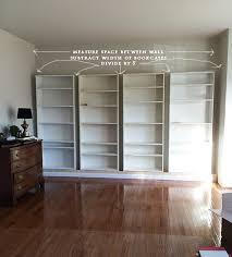 shelves before extension measure