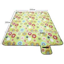 picnic blanket foldable large waterproof picnic rug 200 x 200cm outdoor beach camping