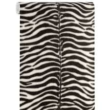 Tafellamp Behang Yara Zwart Wit Kwantum Met Zebraprint Zebra Print