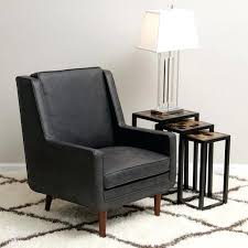 black accent chair amazing of leather moss oxford chairs for bedroom black accent chair
