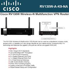 amazon com rv130w wireless n vpn router computers accessories