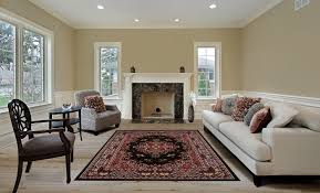 Large Living Room Rug Large Traditional 8x11 Oriental Area Rug Persian Style Carpet
