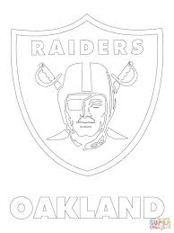Small Picture Oakland Raiders Logo coloring page Free Printable Coloring Pages