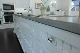 image of diy concrete kitchen countertops