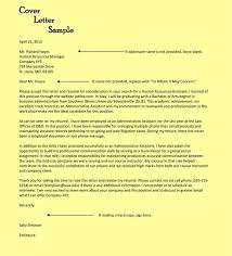 Human Resources Administrator Cover Letter Sarahepps Com