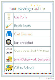 Back To School Ideas And Printables Chore Chart Kids