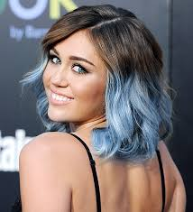 Miley Cyrus pastel blue ombre hair | Hair styles, Miley cyrus hair, Ombre  hair color