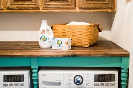 diy laundry room utility room table easy to build great for laundry room organization