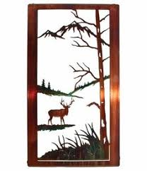 20 wall accentsmetal  on neil rose metal wall art with 20 natural wildlife elk metal wall art by neil rose wildlife wall