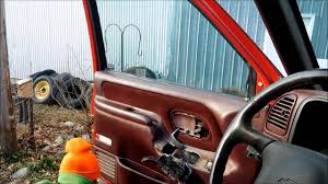 95-99 Chevy GMC Interior Door Handle Replacement - YouTube
