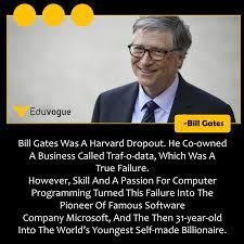Success Story Of Bill Gates | Bill gates, Computer programming, Success  stories