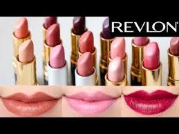 Revlon Super Lustrous Lipstick Colour Chart Revlon Super Lustrous Lipstick 14 Colors Swatches On Lips