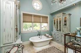french country rug bathroom french country bathroom small oval white bathtub also grey rustic wood cabinet