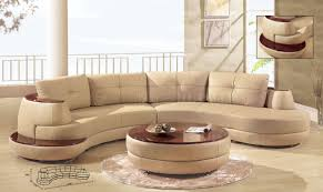 formal curved sofas  beige leather modern sectional sofa wcherry