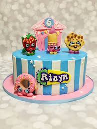 Designer Birthday Cakes In Atlanta Custom Shopkins Cake By A Little Slice Of Heaven Bakery In