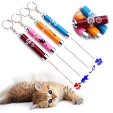<b>Funny Cat</b> Pet Toy LED Laser Lazer Pointer Pen <b>Light</b> With Bright ...