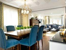 modern decoration blue dining room chairs marvellous inspiration ideas plush set