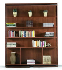 bookcase wall bed. Plain Bookcase Italian Revolving Bookcase Queen Bed By MurphySofa  On Wall K